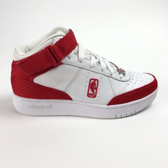Reebok NBA Downtime Mens Mid Top Retro Sneakers NWT